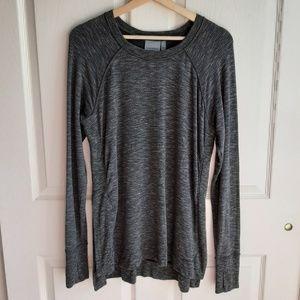 Athleta Studio Side Slit CYA Sweatshirt Size Small